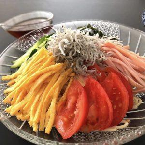 【ちりめんじゃこの冷麺】~ちりめんじゃこのアレンジ料理~
